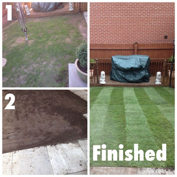 Allmark Landscaping & Gardening before and after